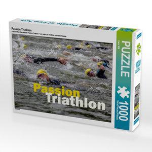 Ein Motiv aus dem Kalender Passion Triathlon 1000 Teile Puzzle q