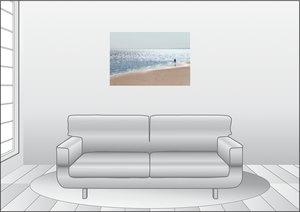 Premium Textil-Leinwand 90 cm x 60 cm quer Lichtzauber