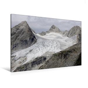 Premium Textil-Leinwand 120 cm x 80 cm quer Reichenspitzgruppe