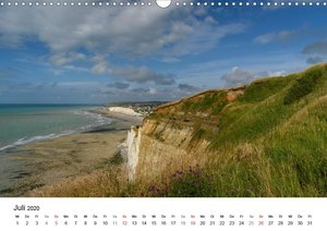 Küsten der Normandie und der Bretagne