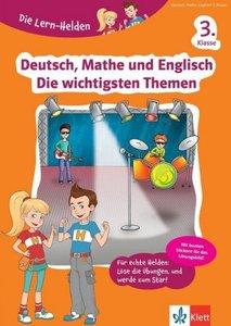 Klett Die Lern-Helden Deutsch, Mathe und Englisch - Die wichtigs