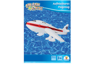 Splash & Fun Aufblasbares Flugzeug PAN AM, 84cm