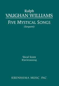 Five Mystical Songs - Vocal Score