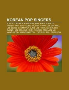 Korean pop singers
