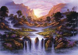 Jon Rattenburry, Traumhafter Wasserfall. Puzzle 1000 Teile