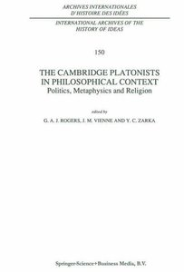 The Cambridge Platonists in Philosophical Context