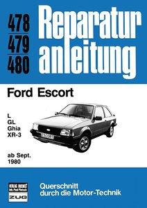 Ford Escort L / GL / Ghia / XR-3 ab September 1980 bis April 198