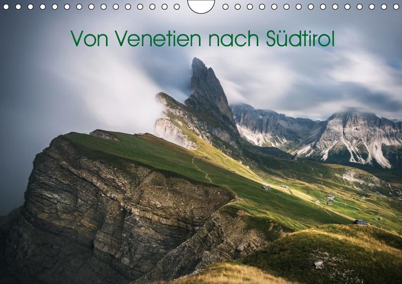 Von Venetien nach Südtirol (Wandkalender 2019 DIN A4 quer) - zum Schließen ins Bild klicken
