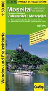Moseltal - Vulkaneifel - Moseleifel 1 : 50 000