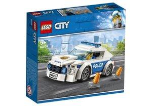 City Polizei Streifenwagen