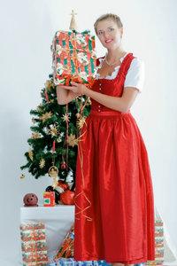 Premium Textil-Leinwand 50 cm x 75 cm hoch Weihnachtszeit