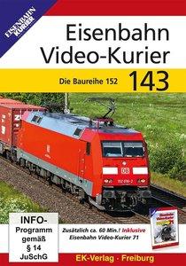 Eisenbahn Video-Kurier 143, 1 DVD-Video