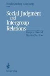 Social Judgment and Intergroup Relations