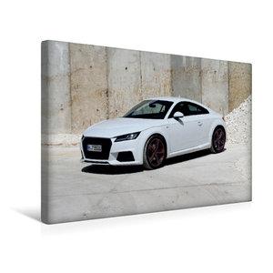 Premium Textil-Leinwand 45 cm x 30 cm quer TT Coupé 8S Farbe Eis
