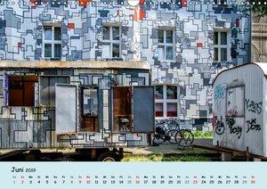 Düsseldorf - Die Kiefernstraße (Wandkalender 2019 DIN A3 quer)