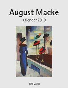 August Macke 2018. Kunstkarten-Einsteckkalender