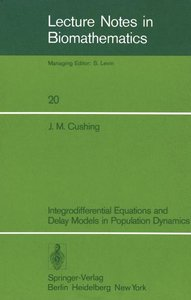 Integrodifferential Equations and Delay Models in Population Dyn