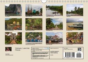 VIETNAM - Land der Fl?sse (Wandkalender 2019 DIN A4 quer)