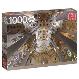 Sagrada Familia, Barcelona - 1000 Teile Puzzle