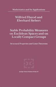 Stable Probability Measures on Euclidean Spaces and on Locally C