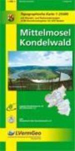 Freizeitkarten Rheinland-Pfalz. Mittelmosel, Kondelwald 1 : 25 0