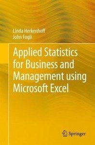 Applied Statistics for Business and Management using Microsoft E