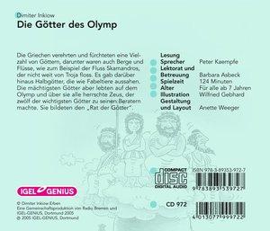 Die Götter des Olymp. CD