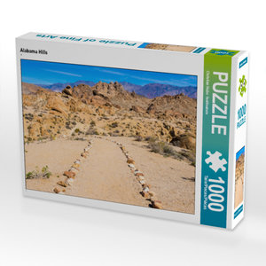 CALVENDO Puzzle Alabama Hills 1000 Teile Lege-Größe 64 x 48 cm F