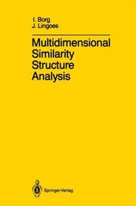 Multidimensional Similarity Structure Analysis
