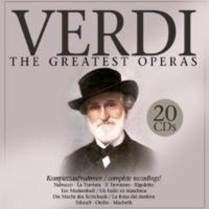 Verdi: The Greatest Operas.20 CDs.