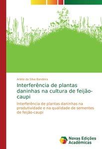 Interferência de plantas daninhas na cultura de feijão-caupi