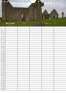 Irland Familienplaner (Wandkalender 2019 DIN A4 hoch)