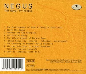 Negus-The Royal Principle