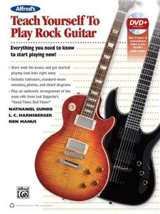 ALFRED'S TEACH YOURSELF ROCK GUITAR