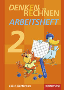 Denken und Rechnen 2. Arbeitsheft. Baden-Württemberg