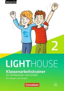 English G LIGHTHOUSE 02: 6. Schuljahr. Klassenarbeitstrainer mit