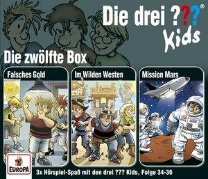 Die drei ??? Kids 12. 3er Box - Folgen 34-36 (3 Audio-CDs)