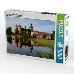 Mariefred, Schloss Gripsholm 1000 Teile Puzzle quer