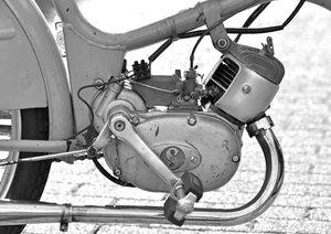Messerschmitt Mokuli 130 A in monochrom (Posterbuch DIN A3 quer)