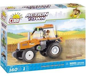 COBI 1861 - ACTION TOWN, Tractor, Traktor, Bausatz, 160 Teile un
