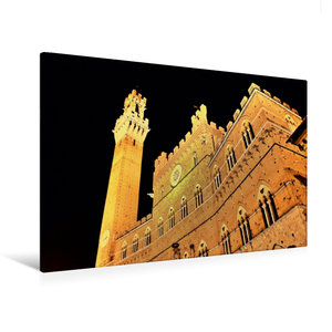 Premium Textil-Leinwand 120 cm x 80 cm quer Die \'Torre del Mang