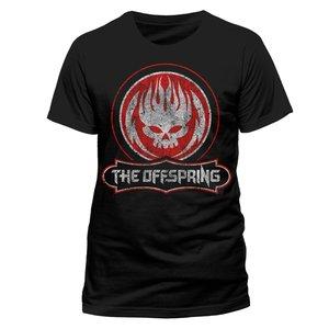 Distressed Skull (T-Shirt,Schwarz,Größe L)