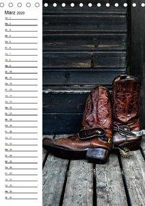 Western Flair (Tischkalender 2020 DIN A5 hoch)