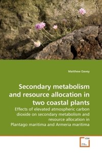 Secondary metabolism and resource allocation in two coastal plan