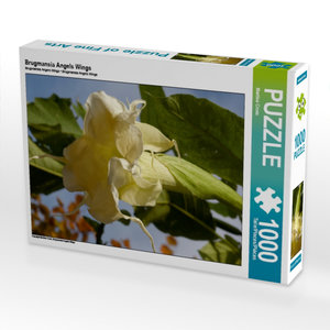 Brugmansia Angels Wings 1000 Teile Puzzle hoch