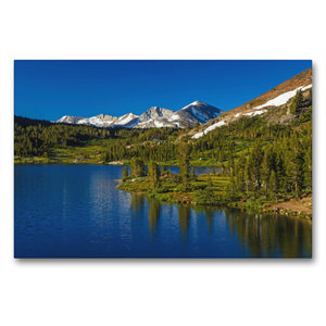 Premium Textil-Leinwand 90 cm x 60 cm quer Yosemite National Par