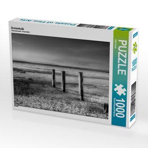 Dreieinhalb 1000 Teile Puzzle quer