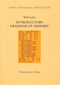 Introductory Grammar of Amharic
