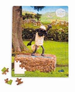 """Shaun das Schaf Puzzle \""""Tanzstunde\"""" (Kinderpuzzle)"""