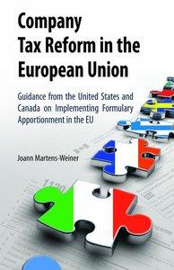 Company Tax Reform in the European Union